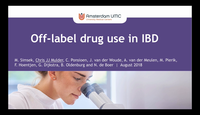 Off label drug use in IBD...