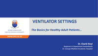 Ventilator settings...