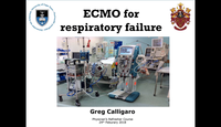 VV-ECMO for respiratory failur...